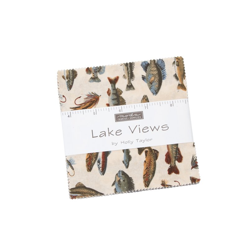 Moda Lake Views 6800PP Charm Pack - 42 pcs cut 5x5