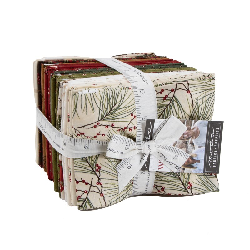 Moda Winter White 6810AB Fat Quarter Bundle 35pcs by Holly Taylor