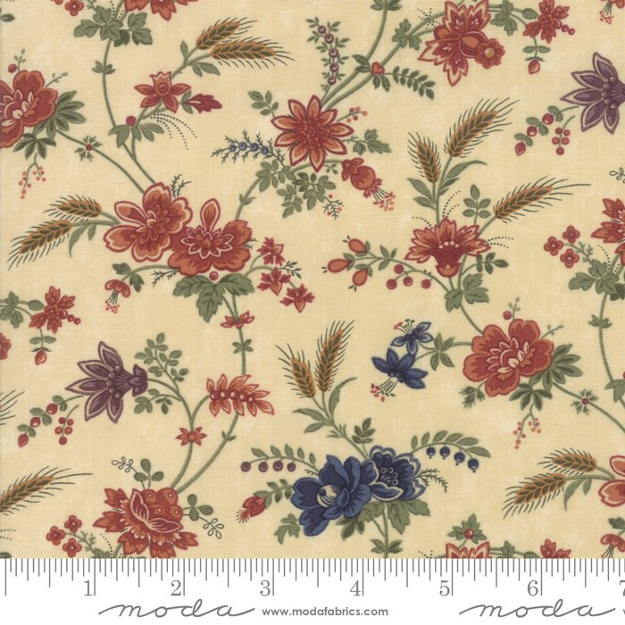 Moda | Milestones 9610 11 Field Of Dreams - Natural Tan by Kansas Troubles Quilters
