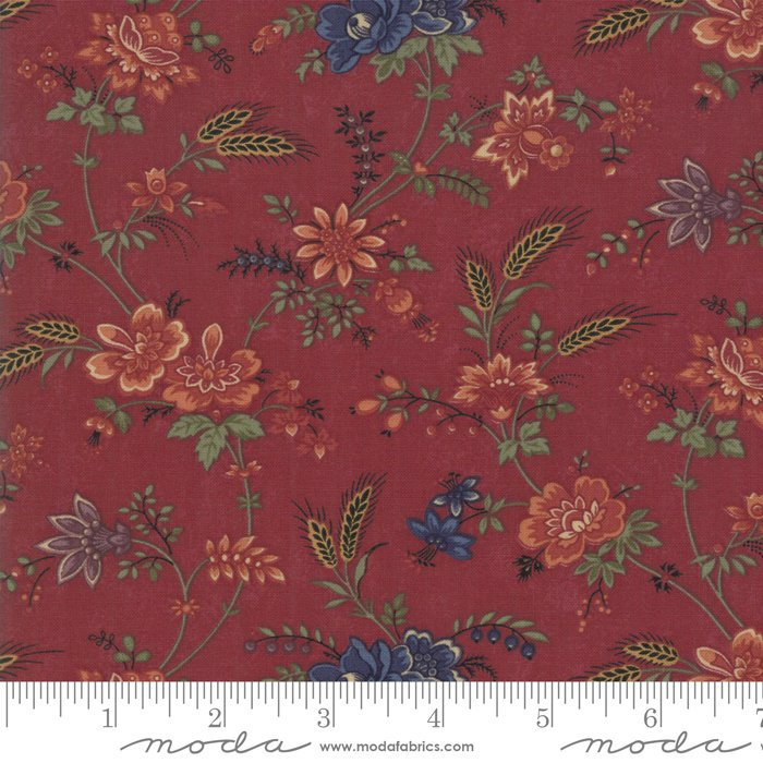 Moda | Milestones 9610 13 Field of Dreams - Red by Kansas Troubles Quilters