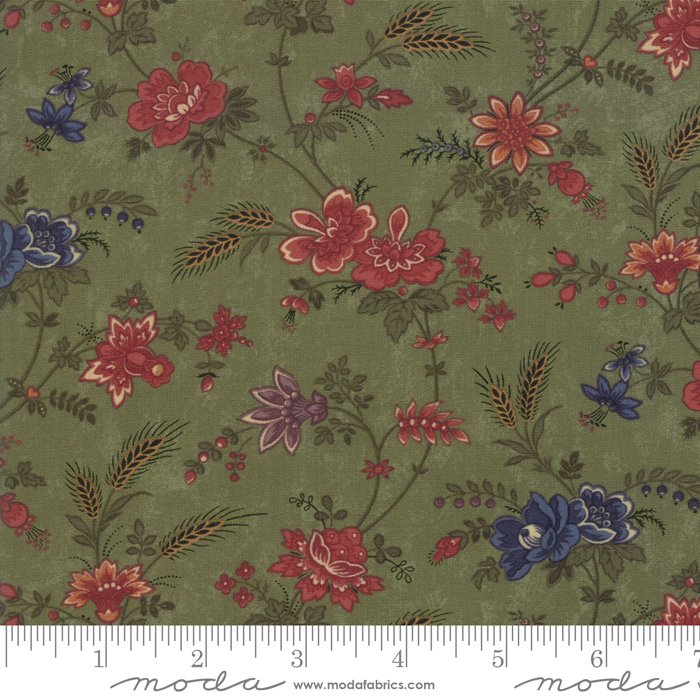 Moda | Milestones 9610 15 Field of Dreams - Green by Kansas Troubles Quilters
