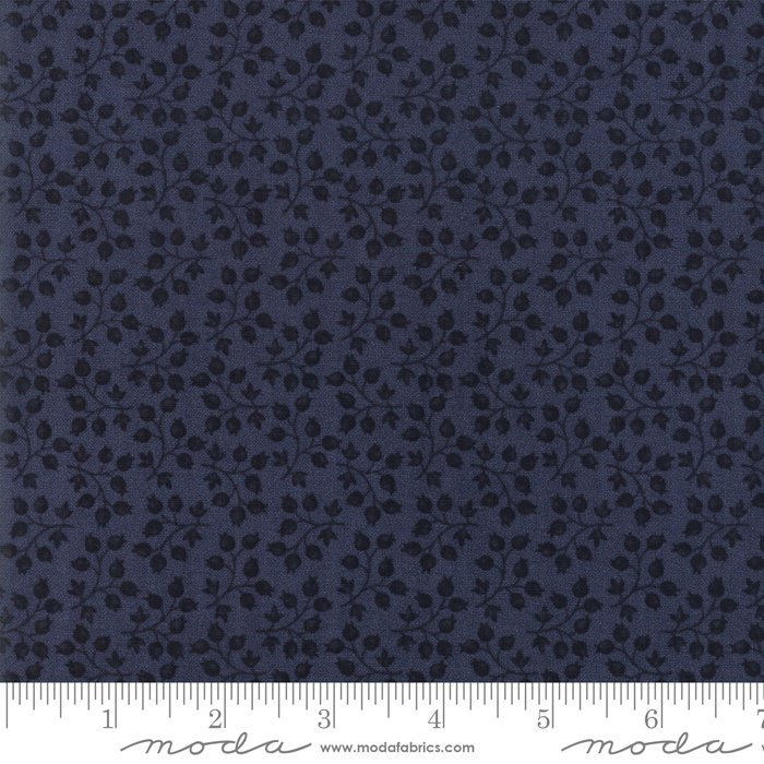 Moda | Milestones 9613 14 Branching Out - Navy Dark Blue by Kansas Troubles Quilters