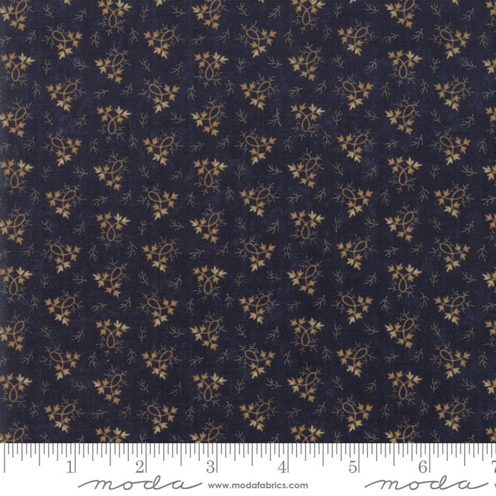 Moda | Milestones 9615 14 Balance - Navy Dark Blue by Kansas Troubles Quilters