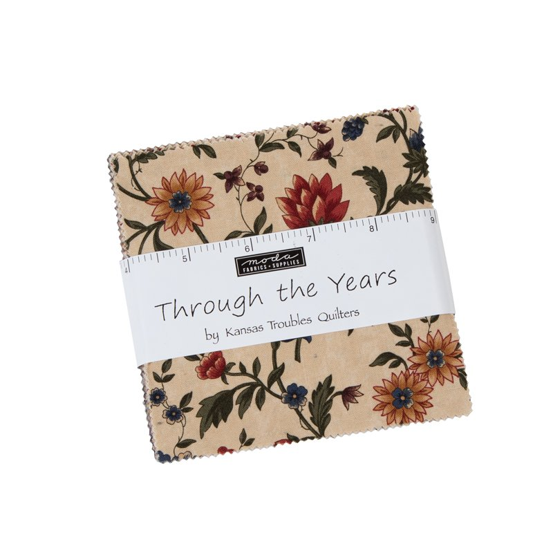Moda - Through The Years 9620PP Charm Pack by Kansas Troubles Quilters