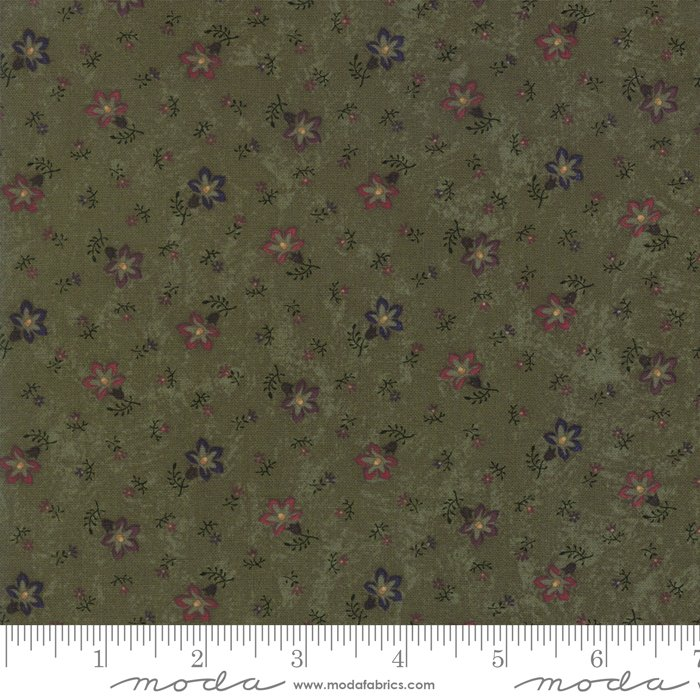 Moda - Through The Years 9622 15 Green Perennials by Kansas Troubles Quilters