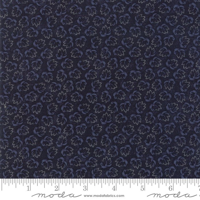 Moda - Through The Years 9623 14 Navy Wings of Time by Kansas Troubles Quilters