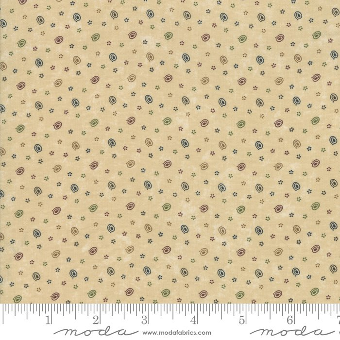 Moda - Through The Years 9625 11 Tan Bits of Time by Kansas Troubles Quilters