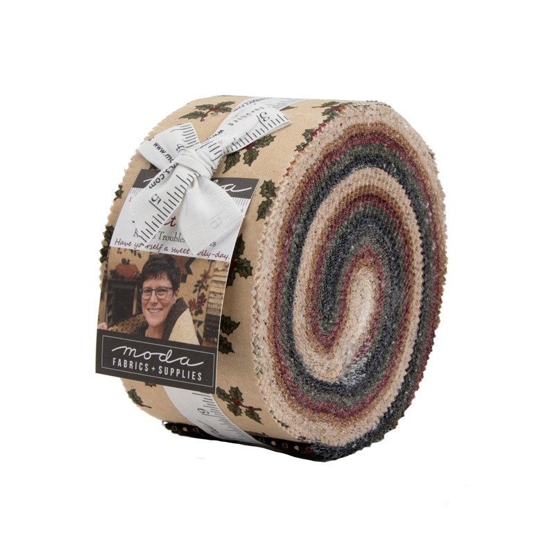 Moda - Sweet Holly 9630JR Jelly Roll 40 strips by Kansas Troubles Quilters