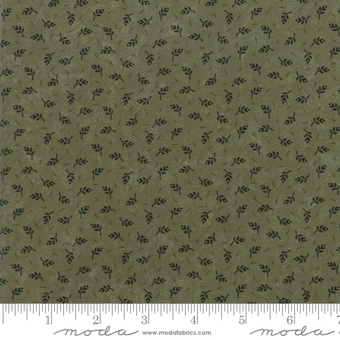 Moda - Sweet Holly 9632 15 Green Evergreen by Kansas Troubles Quilters