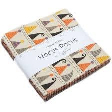Moda Hocus Pocus Charm Pack by Sandy Gervais - 42 pcs 5 x 5