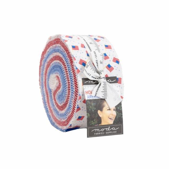 Moda | Holiday Americana Jelly Roll 20760JR by Stacy Iest Hsu