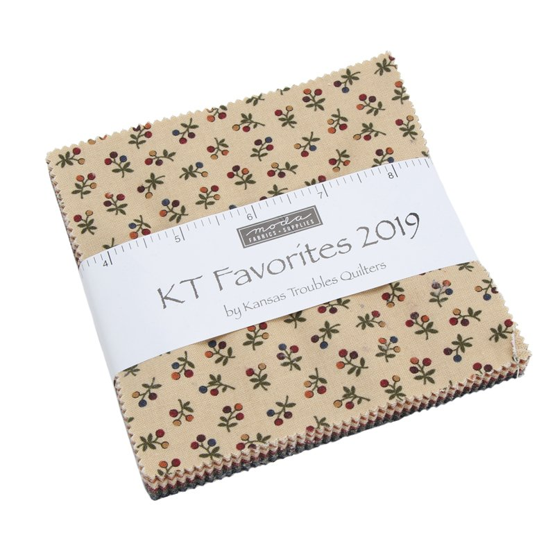 Moda - Kansas Troubles Favorites Charm Pack 9600PP 42 Squares