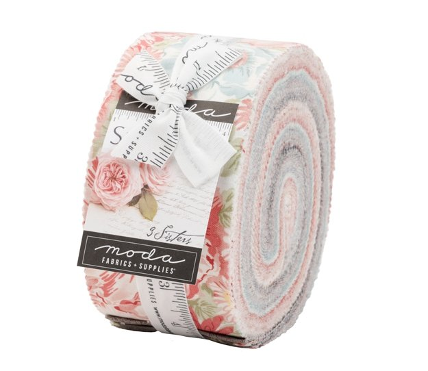 Moda SANCTUARY Jelly Roll by 3 Sisters - 40 pieces 2 1/2 Strips