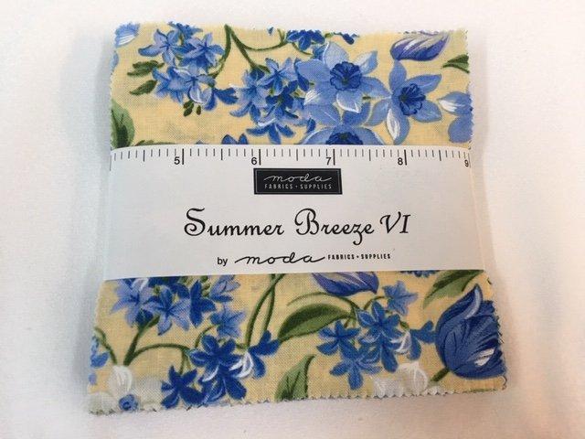 Moda Summer Breeze VI Charm Pack - 42 squares 5x5
