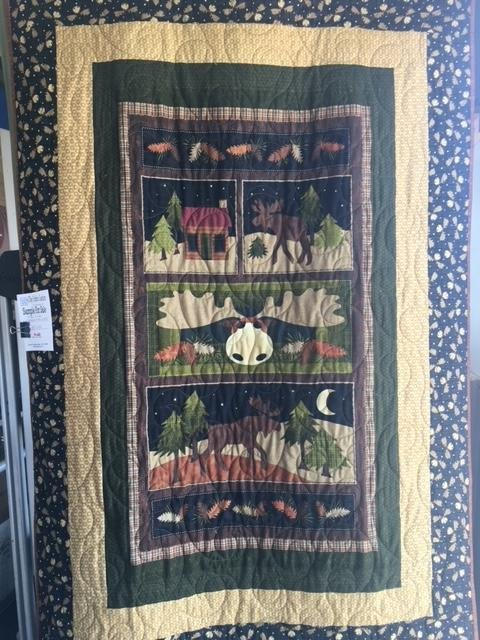Quilt for Sale: Moose Is Loose
