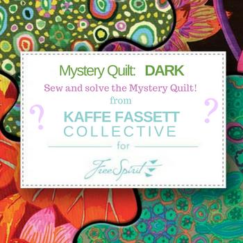 Kaffe Fassett MYSTERY QUILT - DARK - 10 month program reservation