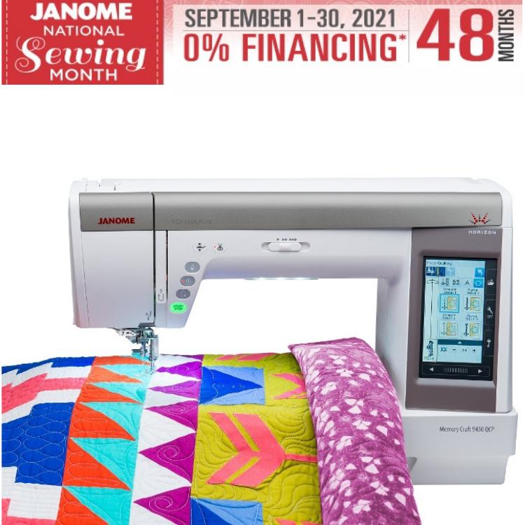Janome Horizon Memory Craft 9450 QCP - Sewing Quilting Machine