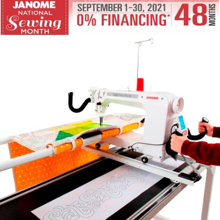 Janome Quilt Maker Pro 16 Longarm Quilting Machine