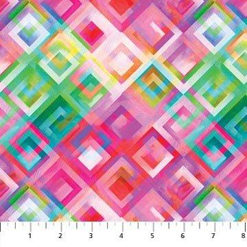 Artisan Spirit Strokes of Brilliance by Northcott - Digitally Printed - DP22128 28 Pink