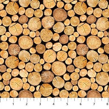 Northcott Naturescapes 22088 34 Stacked Wood Logs