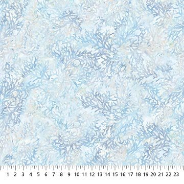 Northcott | Swept Away DP23399-42 Ocean Coral - Blue