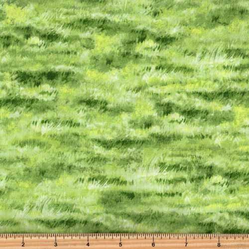 Northcott Naturescapes 21414 74 Green Grass Meadow