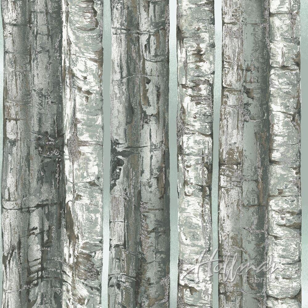 Hoffman Nocturne | Birch/Silver Birches P7594-126S