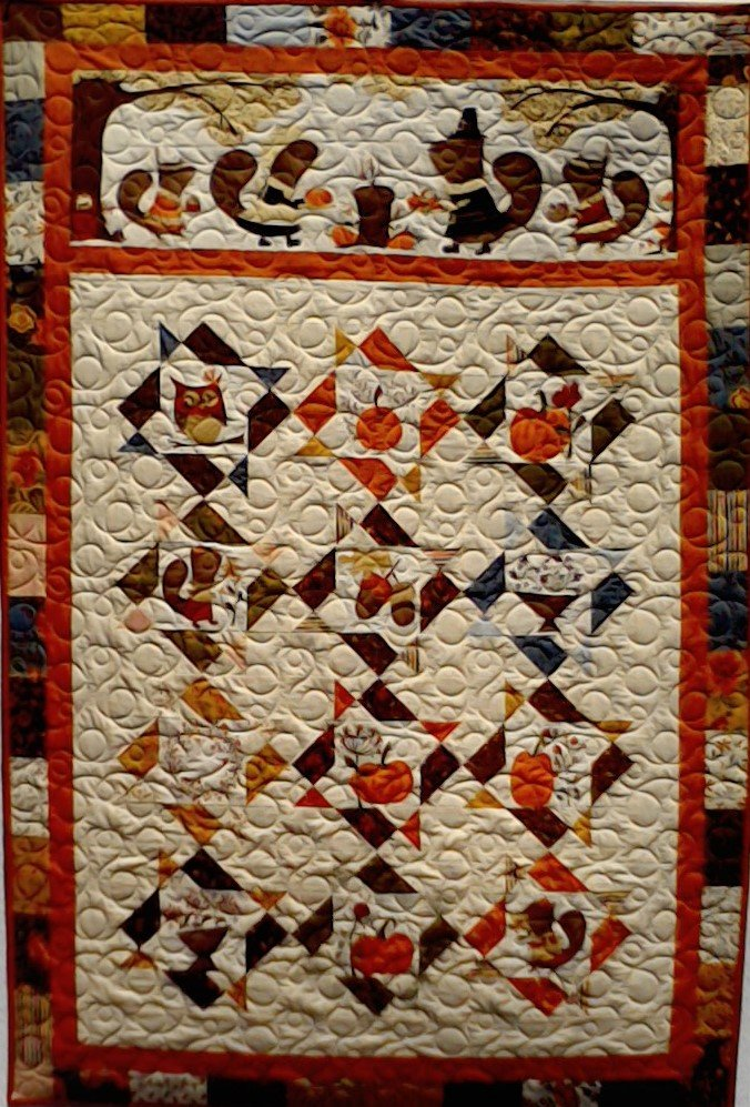 Quilt for Sale:  Perfectly Seasoned | 64 x 64