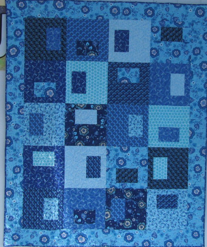 Quilt for Sale:  Picture This 68x80