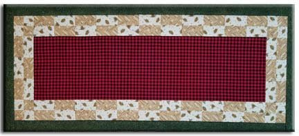 Rustic Lodge - Checkerboard Table Runner Kit