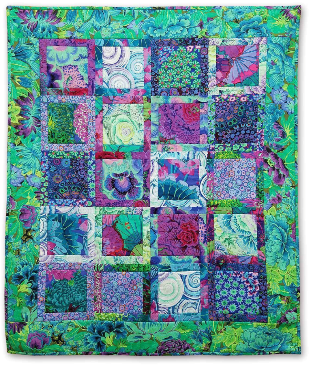The Fabric Garden- Penned in 2 - Quilt Pattern