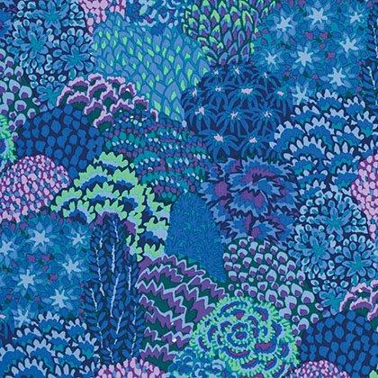 Kaffe Fassett - PWGP129 BLUEX - Oriental - Blue
