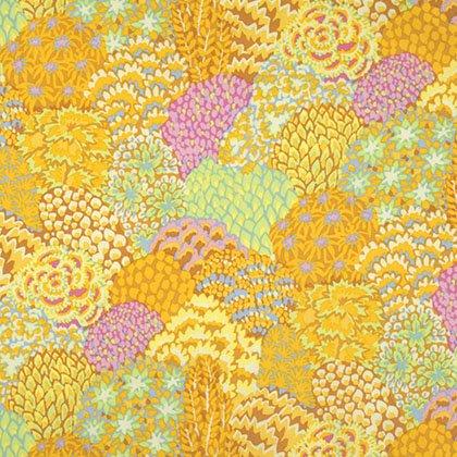 Kaffe Fassett - PWGP129 YELLO - Oriental Trees - Yellow