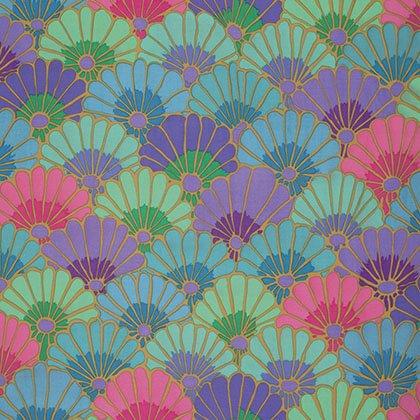 Kaffe Fassett - PWGP144 VIBRA - Thousand Flowers - Vibrant