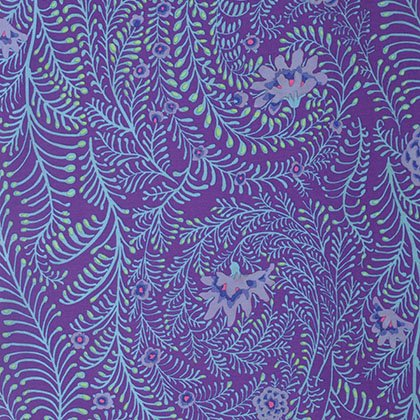 Kaffe Fassett - PWGP147 PURPL - Ferns - Purple