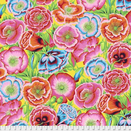 Kaffe Fassett - PWPJ095 REDXX - Poppy Garden - Red