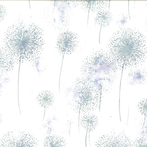 Hoffman Bali Batik - Dandelions Breeze Q2151-492