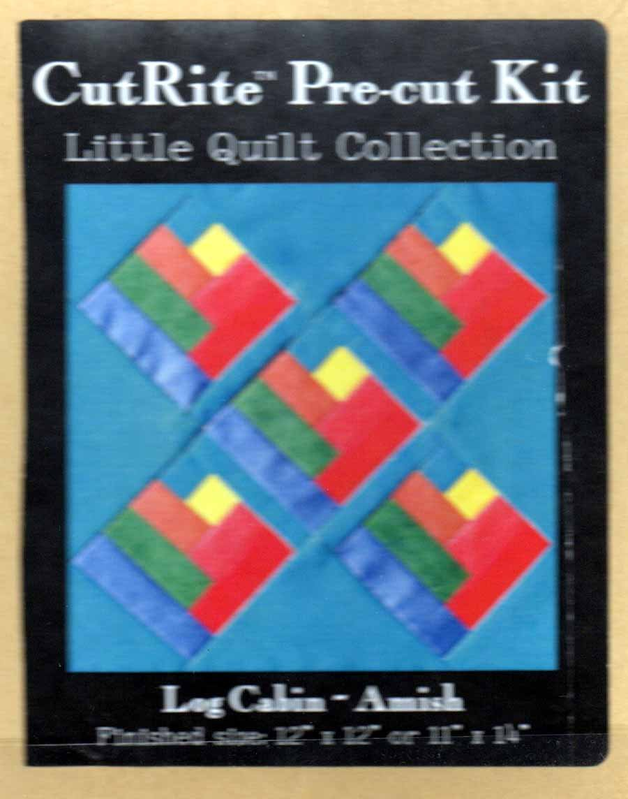 CutRite Pre-cut Kit - Log Cabin AMISH