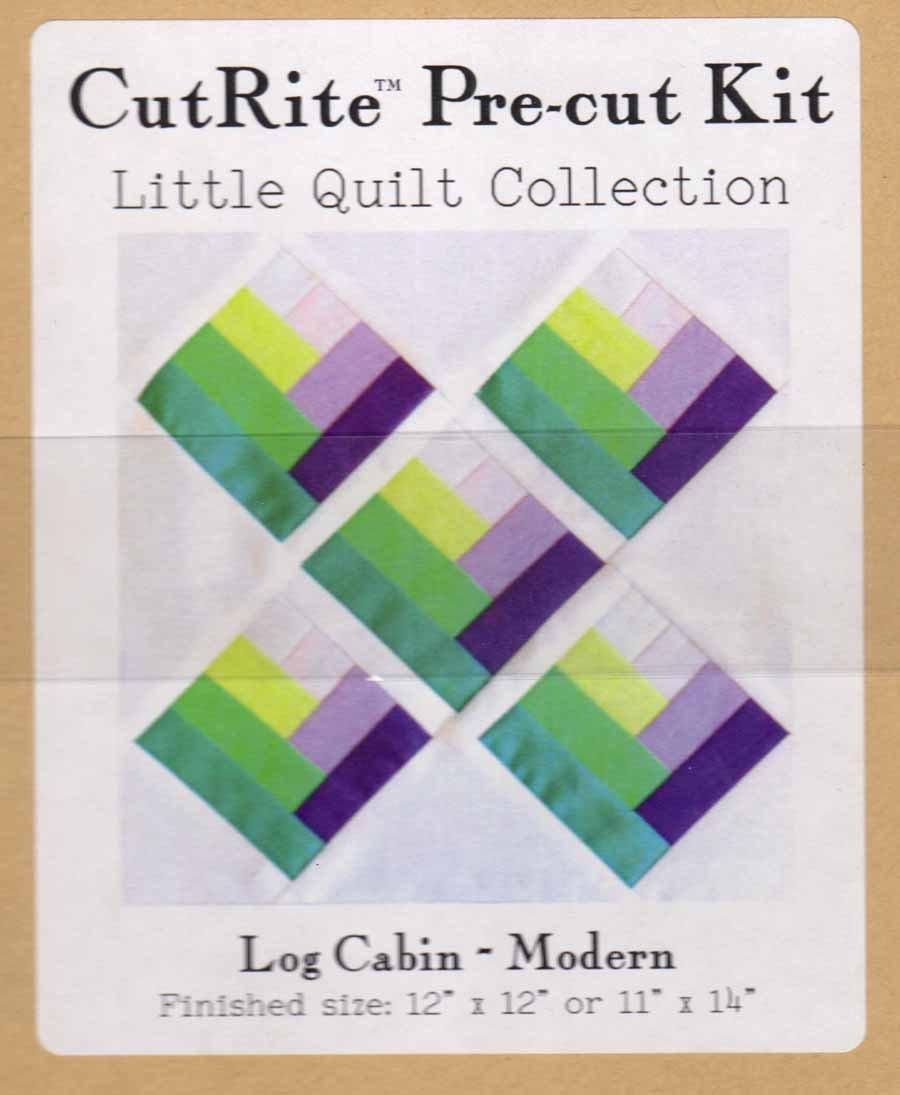 CutRite Pre-cut Kit - Log Cabin MODERN