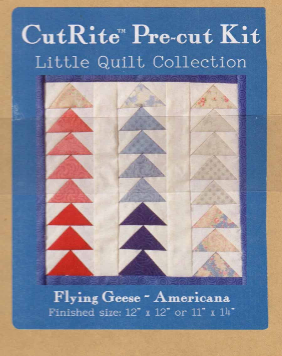 CutRite Pre-cut Kit - Flying Geese Americana