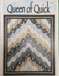 Queen of Quick Quilt Pattern | by Lisa Moore of Quilts With a Twist