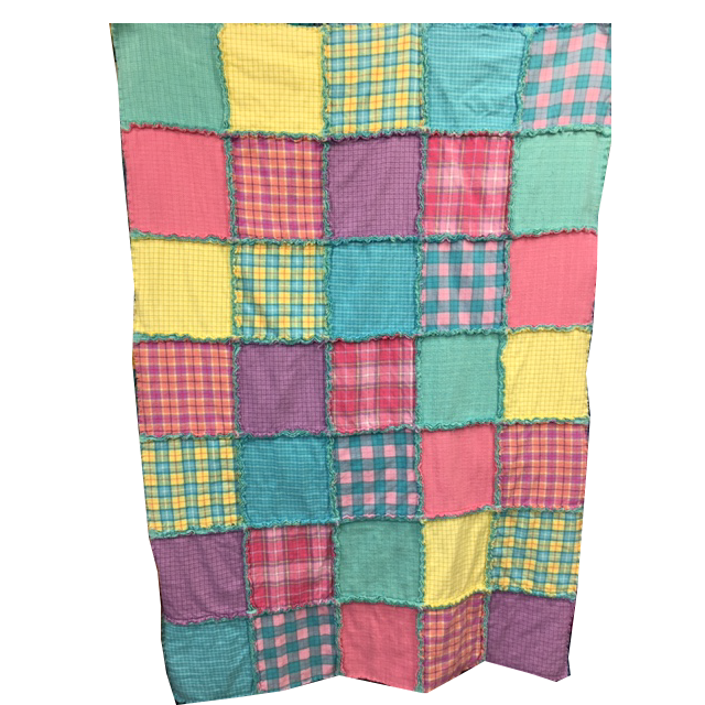 Raggy Layers Flannel Quilt Kit