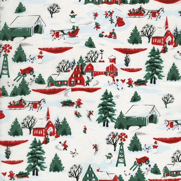 rjr white christmas by patrick lose winter village 2350 1 - What Is A White Christmas