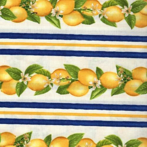 RJR Fresh Lemons AJA-12066-9 Navy