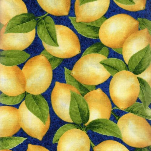RJR Fresh Lemons AJA-12068-9 Navy