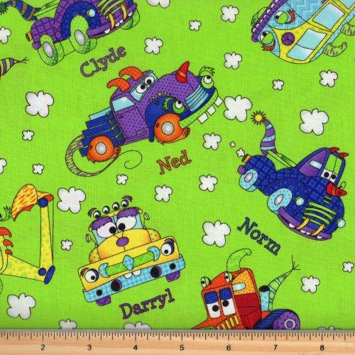 RJR Monster Trucks by Sue Marsh | Green 3030 1