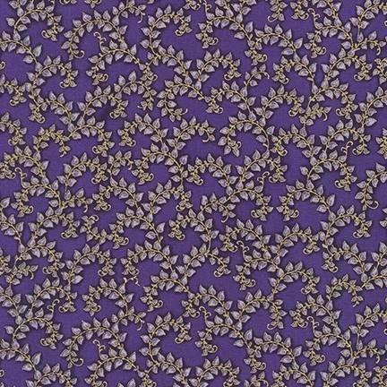 Robert Kaufman Florentine Garden AHYM 19451 23 Lavender Vines