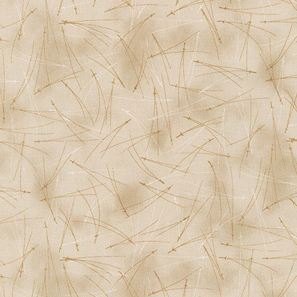 Robert Kaufman A WALK ON THE PATH SRK 19111 160 Taupe Pine Needles