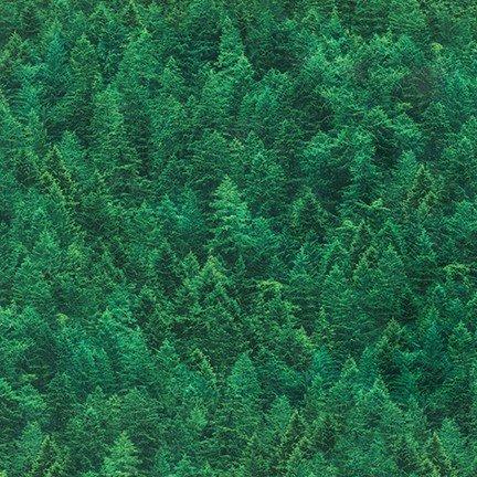 Robert Kaufman Imaginings SRKD 18912 274 Pine Forest