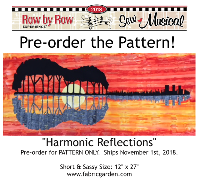 Harmonic Reflections PATTERN ONLY - Pre-order - Ships November 1st